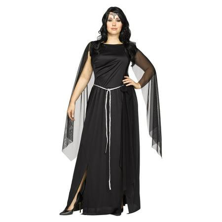 Dark Goddess New Moon Plus size Women - Plus Size Goddess