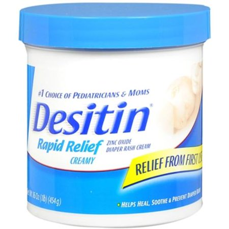 Desitin Soulagement rapide Diaper Rash Cream 16 oz (pack de 2)