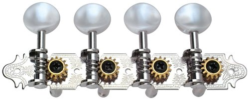 Golden Gate M-121 A-model Mandolin Tuners 2 planks (4+4) Nickel by