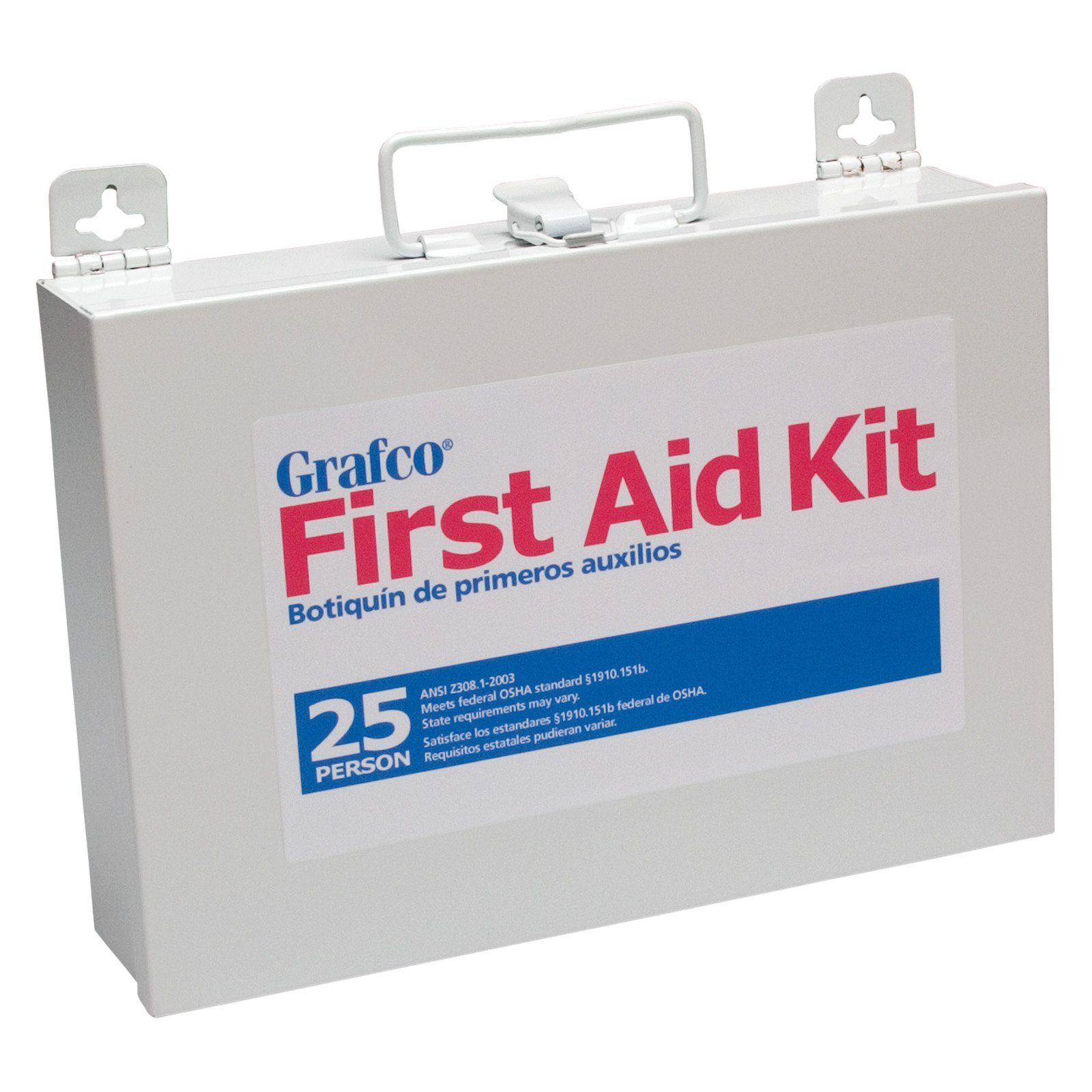 Grafco 25 Person First Aid Kit - 170 Pieces