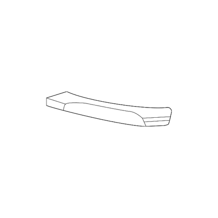 Genuine OE Mercedes-Benz Outer Grille Trim 204-885-30-74