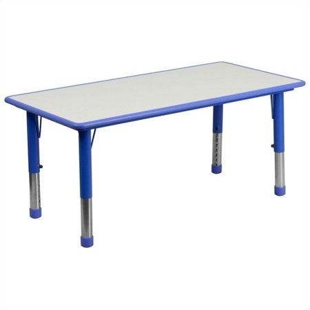 Bowery Hill Plastic Activity Table in Blue - image 1 de 1