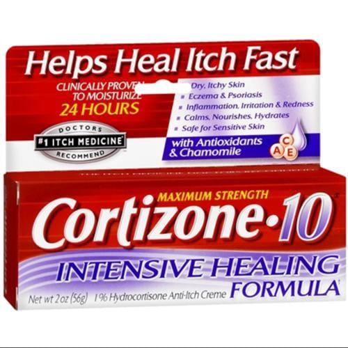 Cortizone 10 Hydrocortisone Anti-Itch Intense Healing Formula Cream - 2 Oz