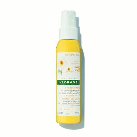 Klorane Sun Lightening Spray with Chamomile and Honey, 4.2