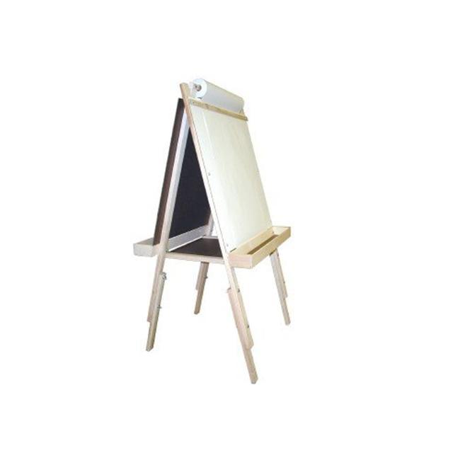 Beka 01022 Adjustable Easel With Magnet Board-Chalkboard