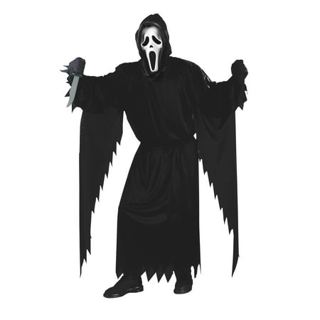 Ghost Face Killer Costume for Men (Jigsaw Killer Costume)