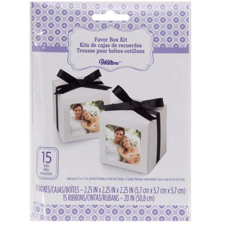 15 Photo Party Favor Boxes Wedding Table Custom Gift Picture Treat ...