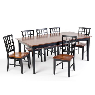 Bundle-66 Imagio Home Arlington Dining Set (9 Pieces)