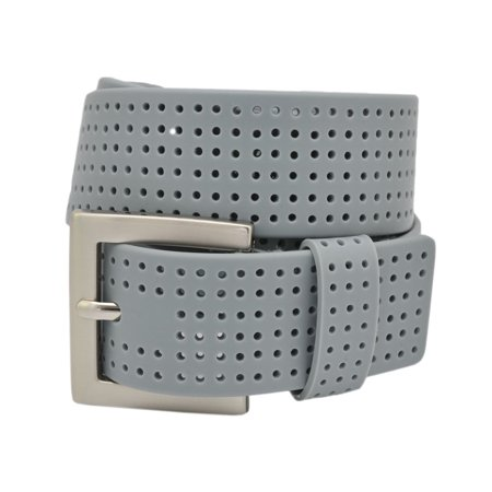 PGA TOUR Silicone Perforated Golf Belt - Gray