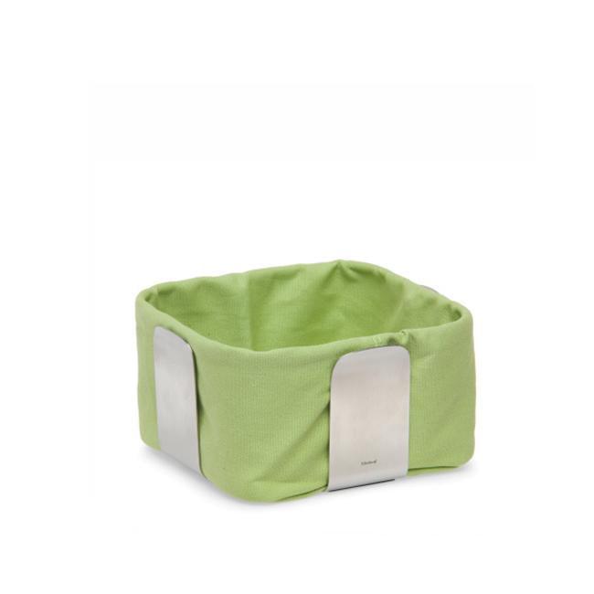 Blomus 63456 Desa Stainless Steel Small Bread Basket -Green