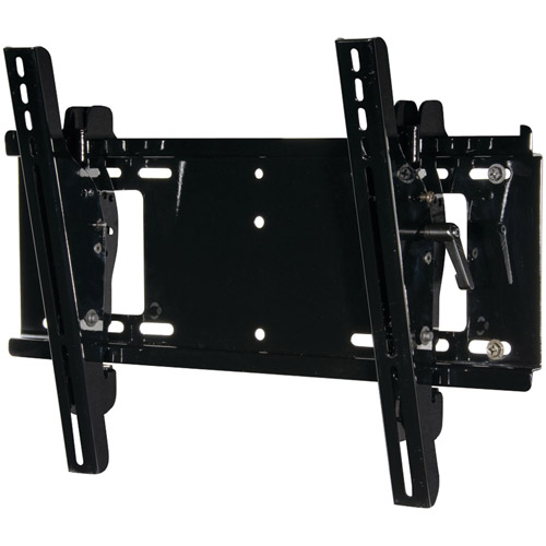 "Peerless Pro PT640 Pro Series Universal Tilt Flat Panel Wall Mount for 23"" - 46"", Black"