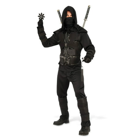 Mens Dark Ninja Halloween Costume - Funny Group Halloween Costumes For Men