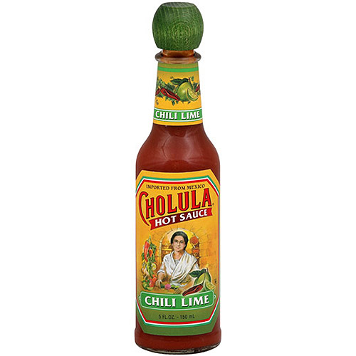 Cholula Chili Lime Hot Sauce, 5 oz (Pack of 6)