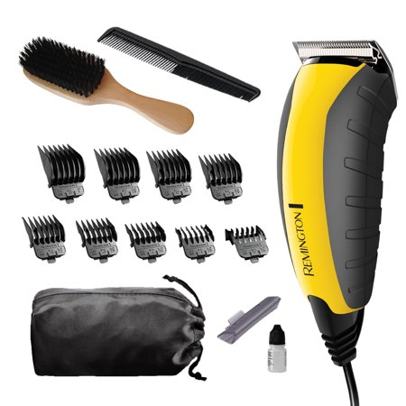 Remington Virtually Indestructible™ Haircut and Beard Trimmer, Yellow, (Best Vacuum Beard Trimmer 2019)