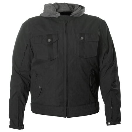 Men's Fulmer Freedom Jacket Motorcycle Riding Coat Water-resistant with CE Armor ()