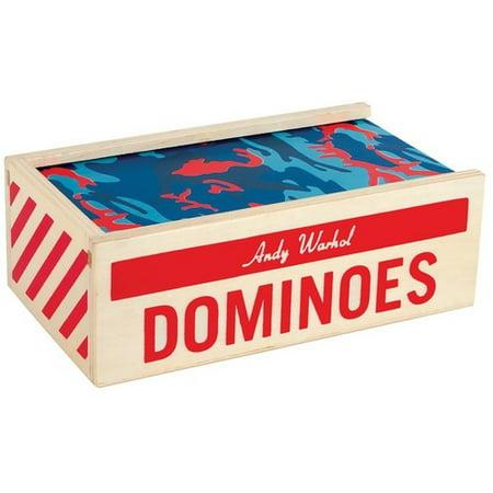 Andy Warhol Wooden Dominoes - Wooden Dominoes
