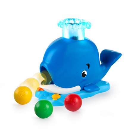 Bright Starts Silly Spout Whale Ball Popper Musical Activity - Ball Popper Toy