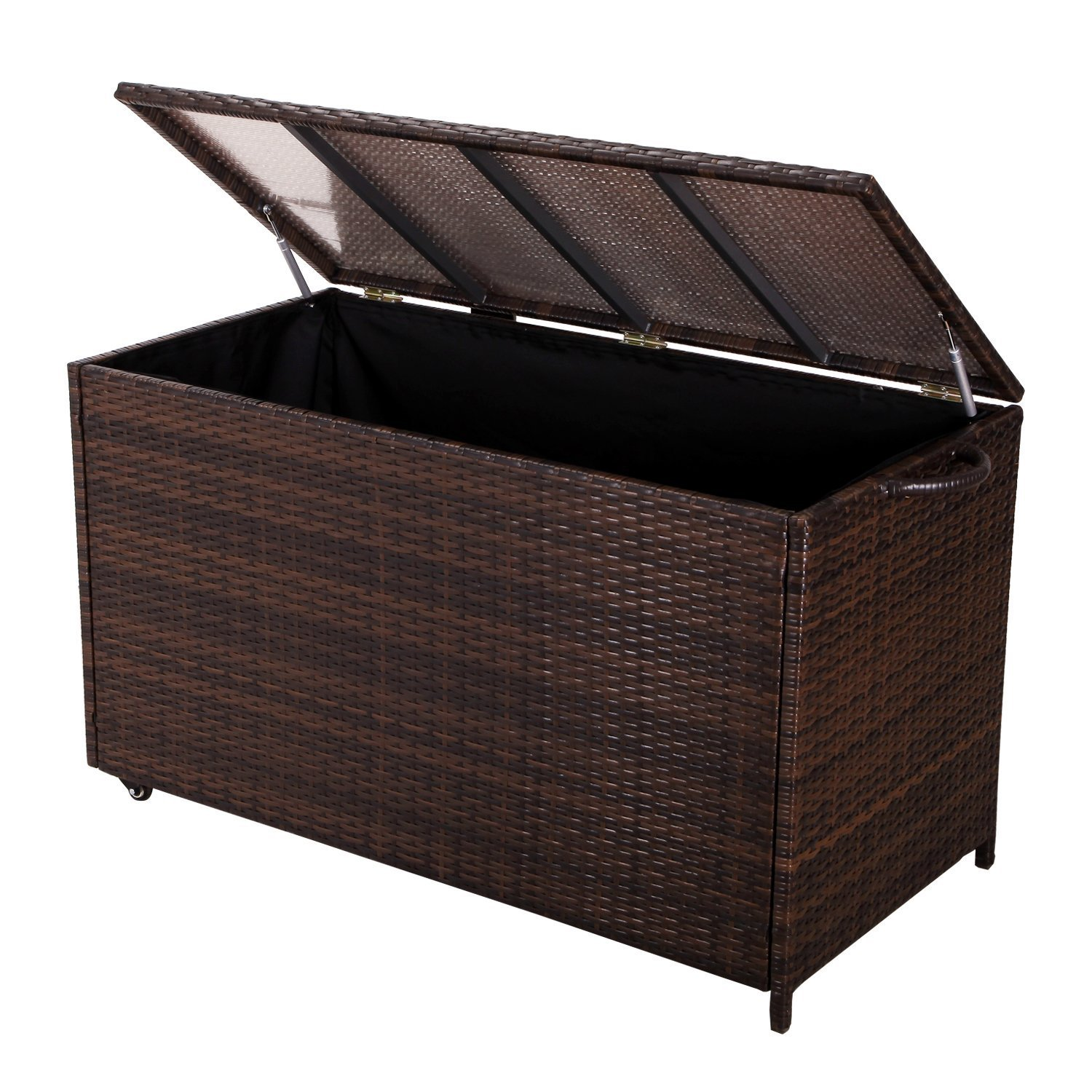 Click here to buy Adeco Wicker Storage Box by Adeco.