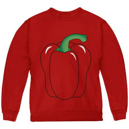 Halloween Fruit Vegetable Bell Pepper Costume Youth Sweatshirt](Peter Halloween)