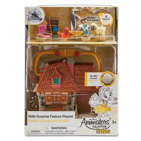 Disney Animators Little Collection Belle Surprise Feature Playset Beauty Beast](Disney Character Belle)