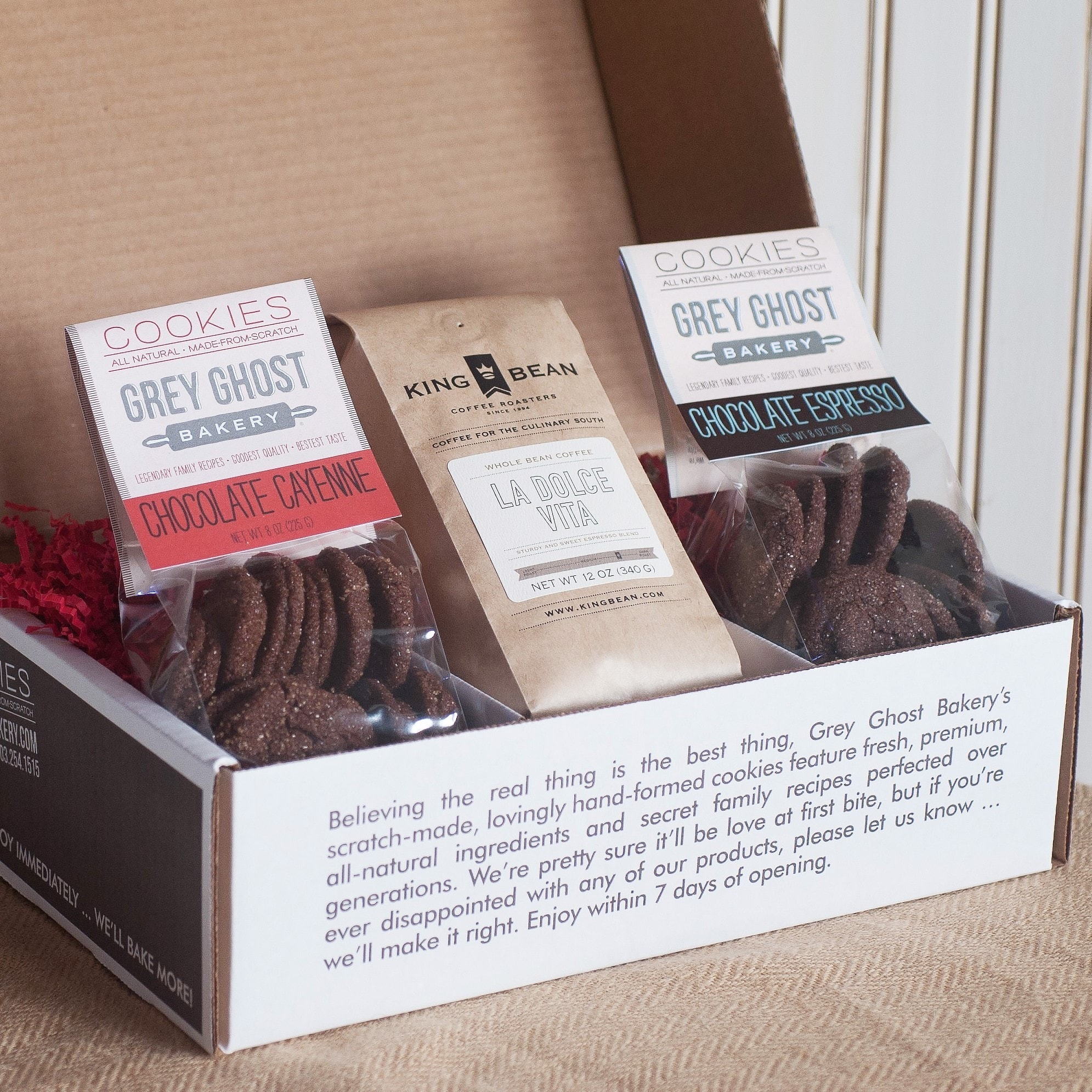 Grey Ghost Bakery  Coffee Lover's Gift Box