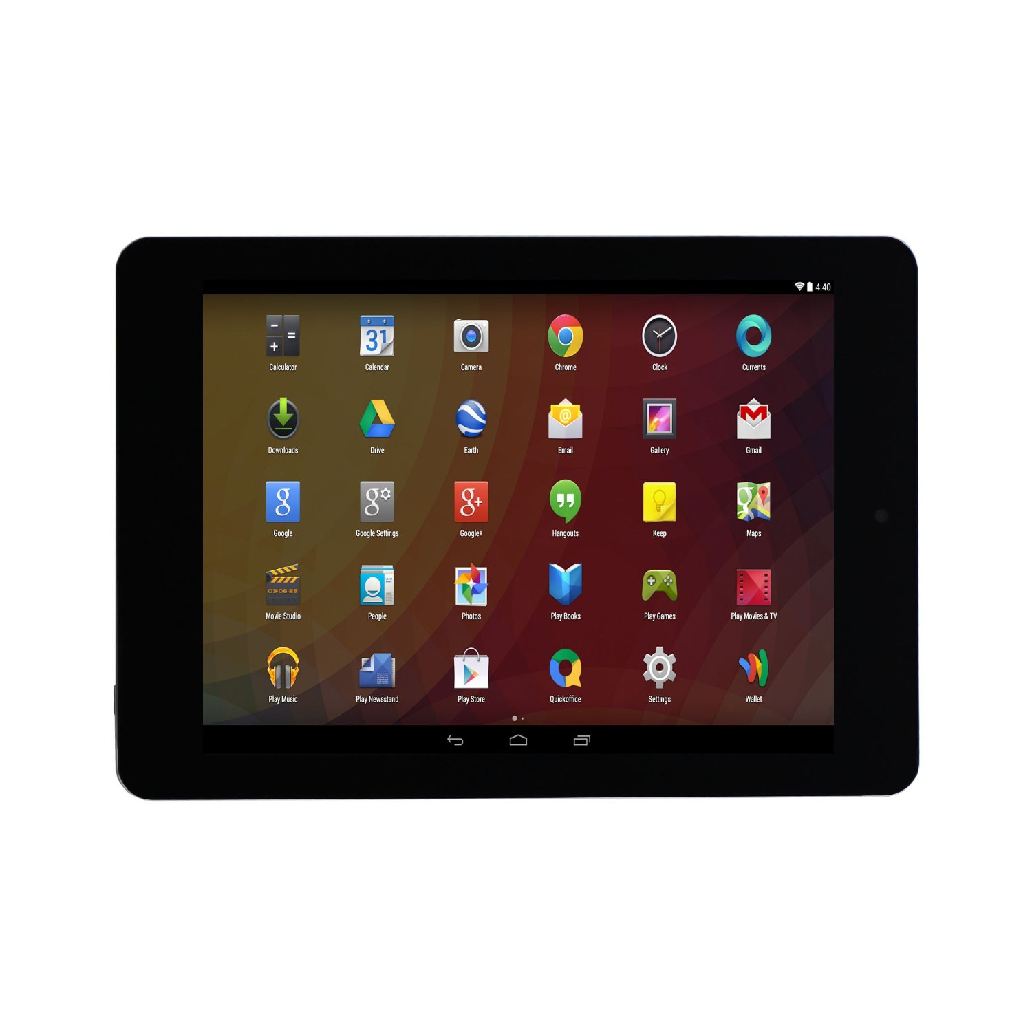 """JAZZ C855- 8"""" 1024x768 4GB 1.2GHz Dual Core Android 4.2 Tablet (Black) - New"""