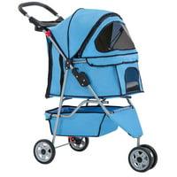 3 Wheel Folding Pet Stroller, Model T13