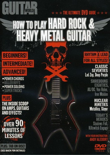 Alfred Guitar World: How to Play Hard Rock & Heavy Metal Guitar (DVD) by Alfred