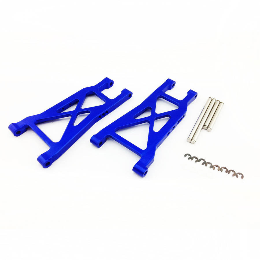 Atomik Alloy Rear Lower Arm Traxxas Slash 2WD, 1:10, Blue