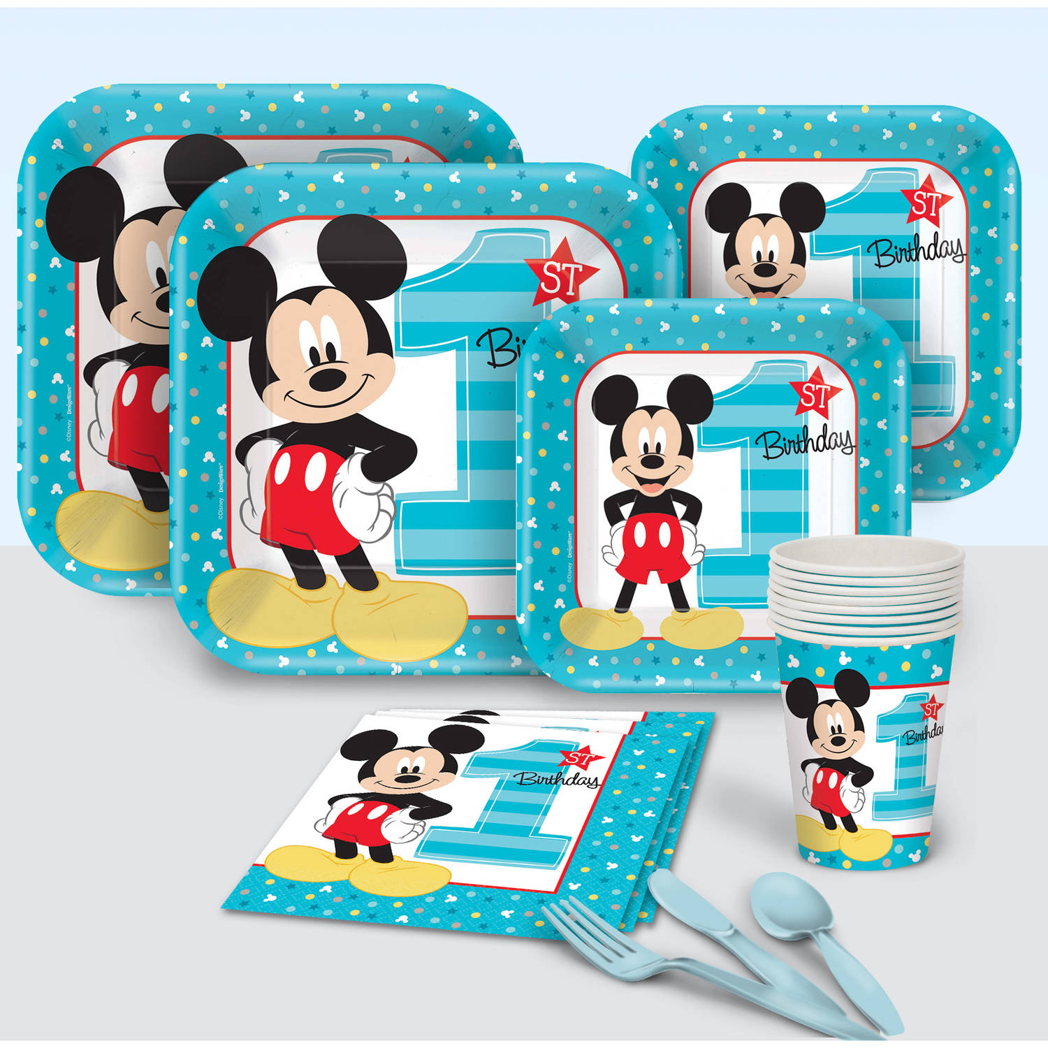 Disney Mickey's Fun to Be One Party Pack for 8