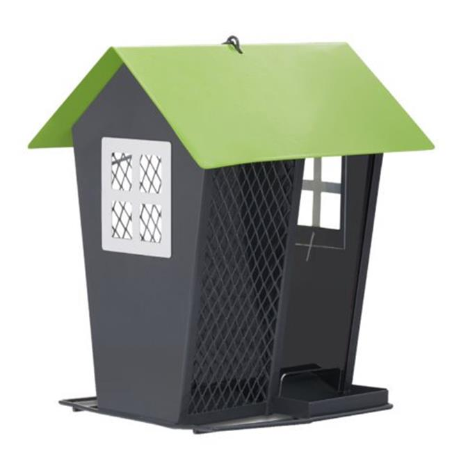 Seed Duo Wild Bird Feeder, Gray