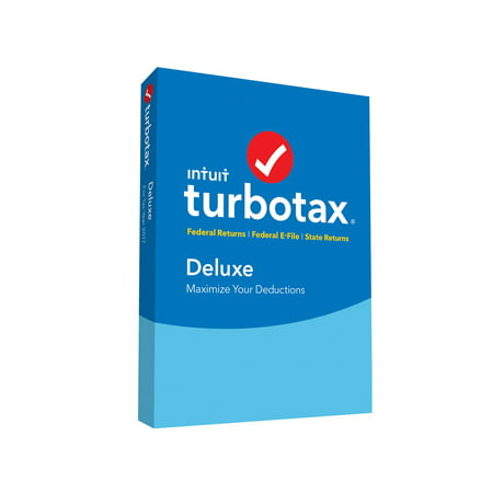 Intuit TurboTax Deluxe 2017 Federal & State