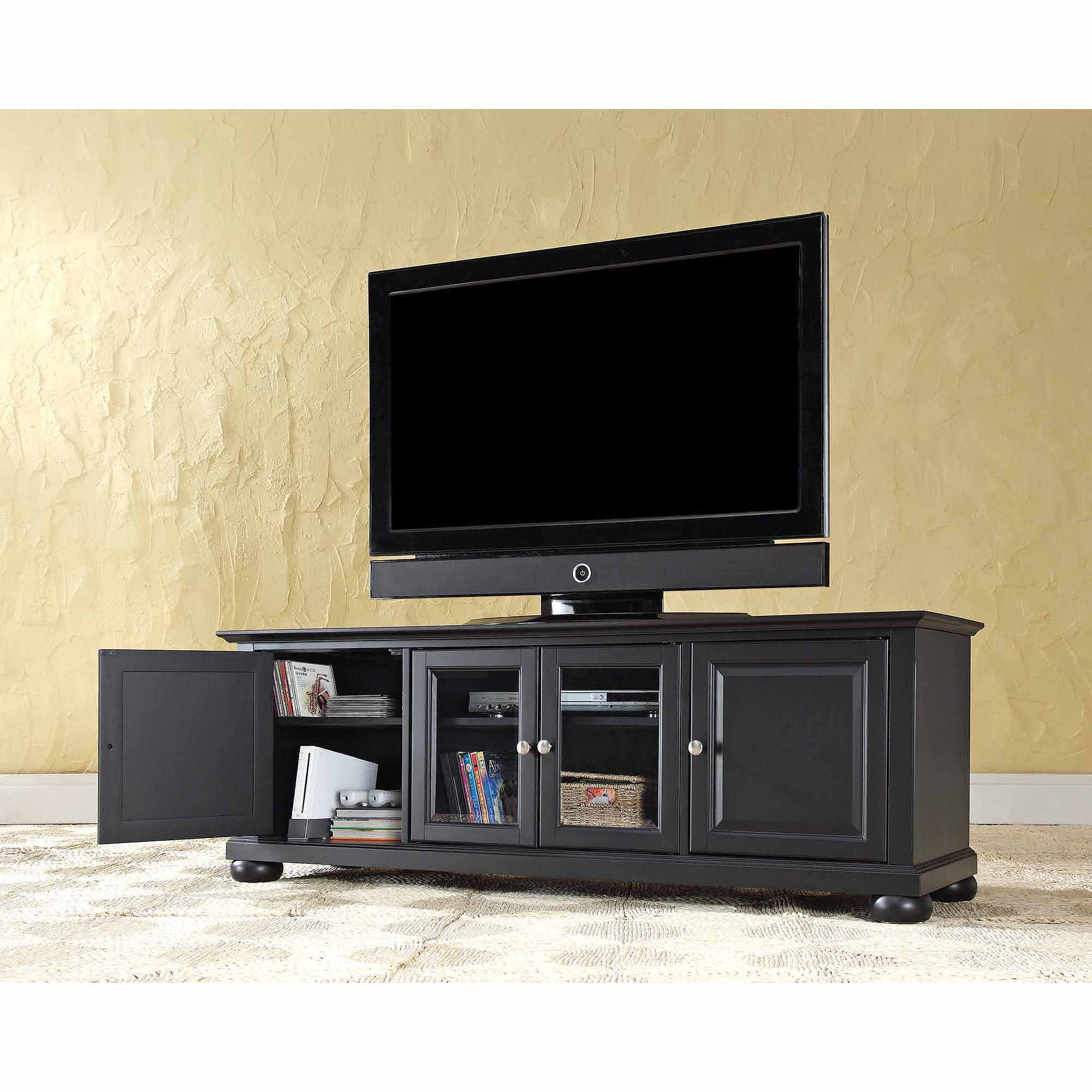 crosley furniture alexandria low profile tv stand for tvs up to  walmartcom. crosley furniture alexandria low profile tv stand for tvs up to
