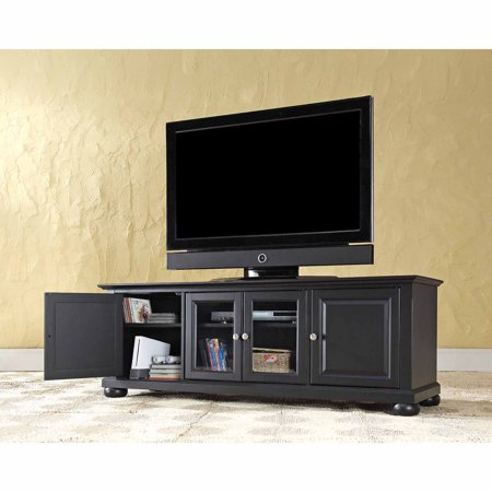 Crosley Furniture Alexandria Low Profile TV Stand for TVs up to - High Velocity Low Stand