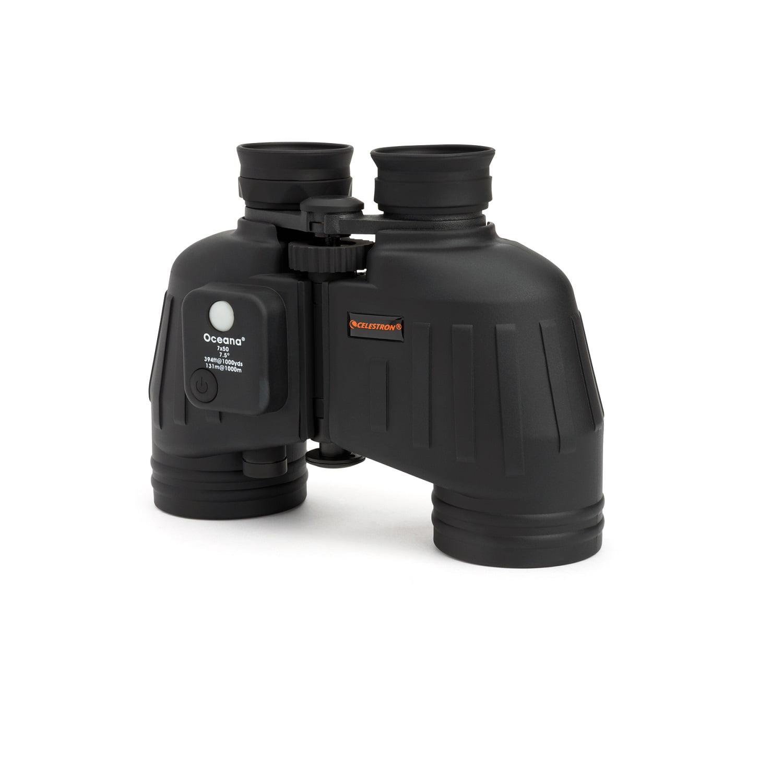 Celestron Oceana 7x50 Porro WP CF and RC Black Binocular by Celestron