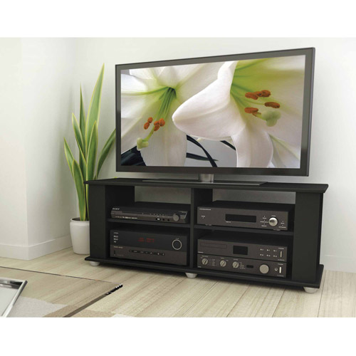 "Sonax Fillmore TV Stand for TVs up to 48"", Midnight Black"