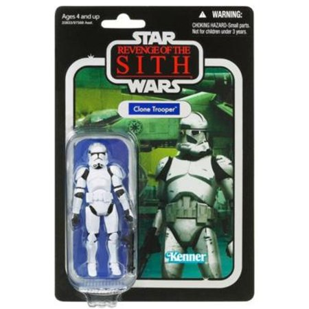 Star Wars The Vintage Collection Revenge of the Sith 3.75 inch Clone Trooper Action Figure, Star Wars Clone Trooper Vintage Action Figure VC15 By Hasbro From USA - Clone Trooper Armor For Sale