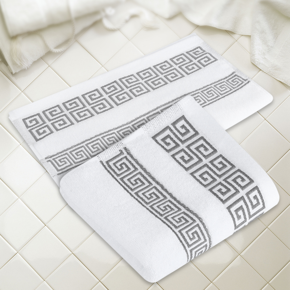 Yosoo Luxury Towel Cotton Towels Face Hand Bath Towel Home Hotel , Cotton Towels, Face Towel