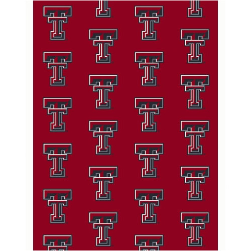 "Texas Tech 7'8 x 10'9"" Premium Pattern Rug"