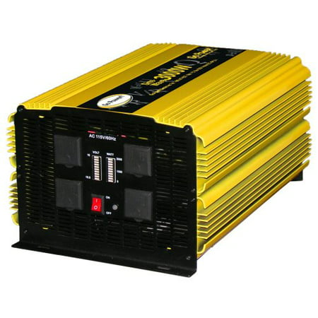 Go Power! GP-3000HD Heavy-Duty Modified Sine Wave Inverter - 3000 Watt / 12V