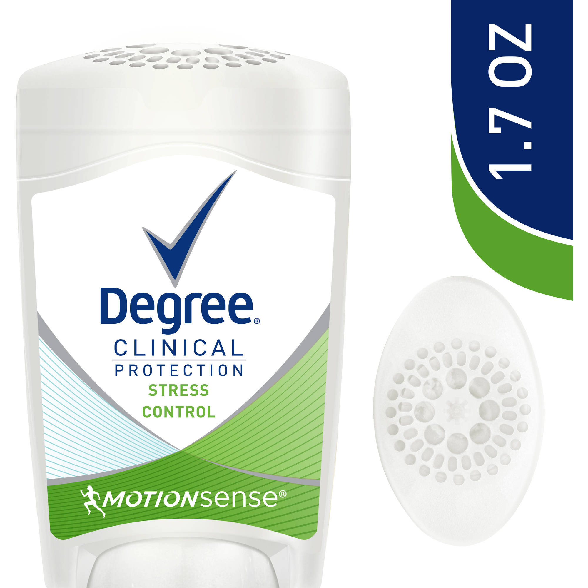 Degree Clinical Protection Stress Control Anti-Perspirant Deodorant, 1.7 oz