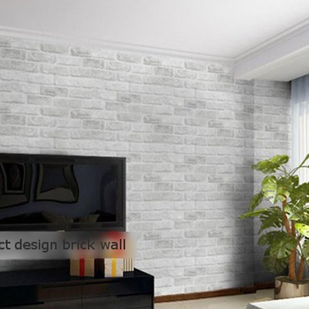 Sales clearance embossed textured 10m 3d wall panels in for Wallpaper rolls clearance