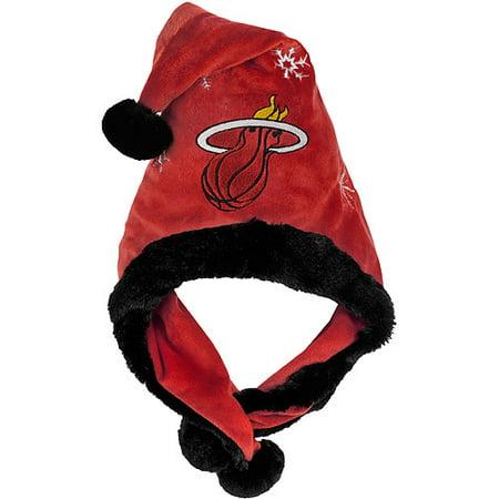 Nba Thematic Headwear Santa Hat  Miami Heat