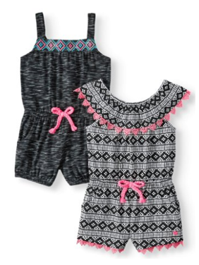 02f2f2beb Toddler Girls Rompers - Walmart.com
