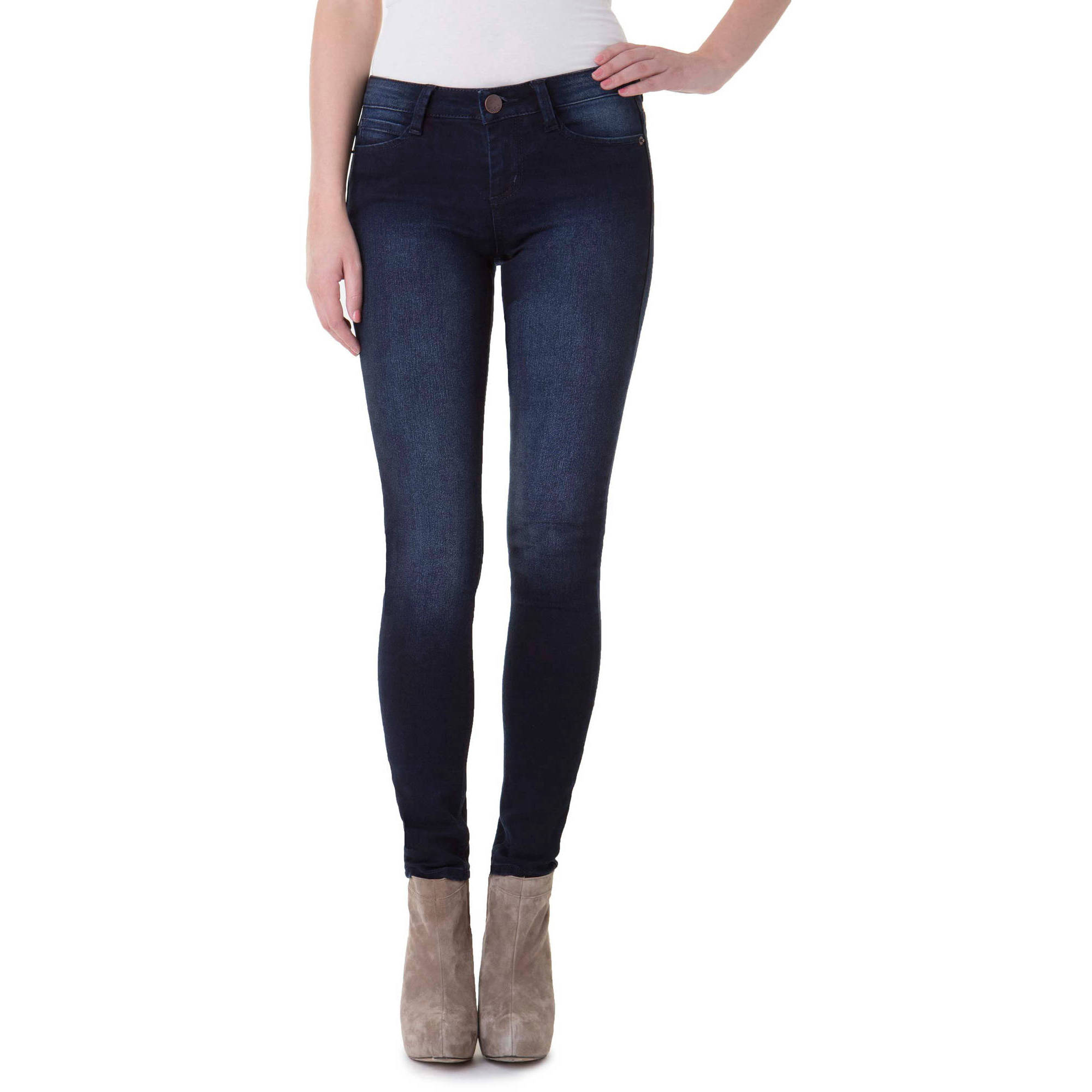 No Boundaries Juniors' Essential Skinny Jeans