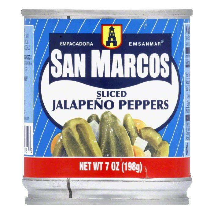 Empacadora San Marcos San Marcos  Jalapeno Peppers, 7 oz