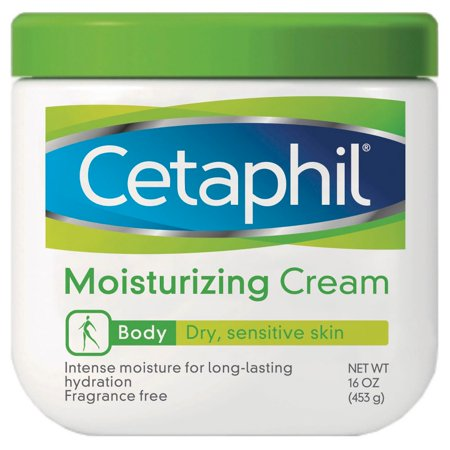 Cetaphil Moisturizing Cream for Dry, Sensitive Skin, Body, 16