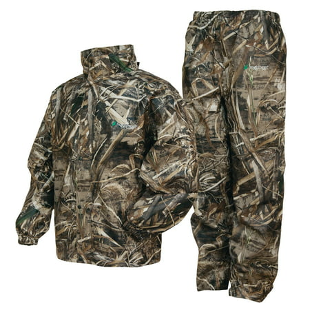frogg toggs all sports camo suit, max 5
