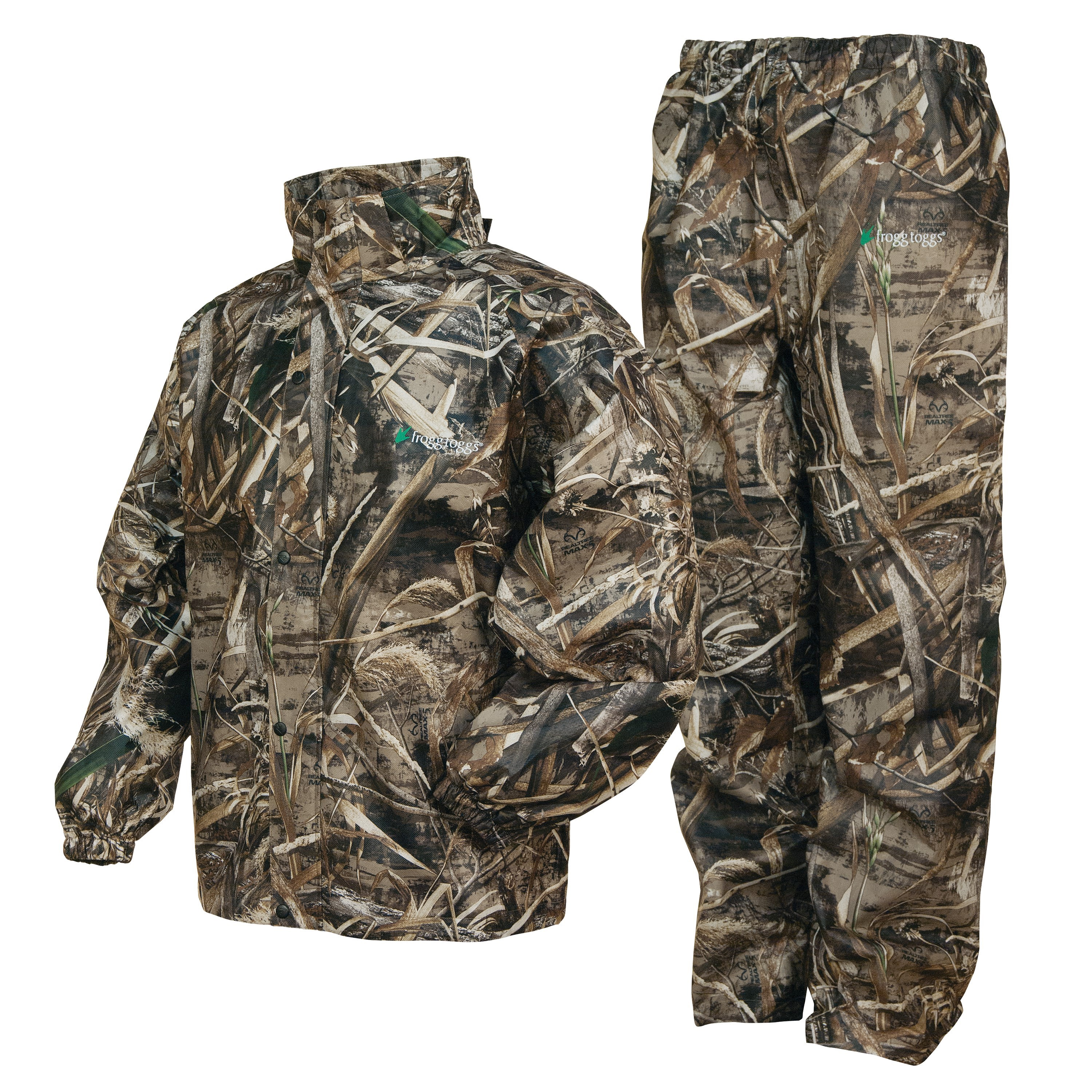 frogg toggs all sports camo suit, max 5 camo