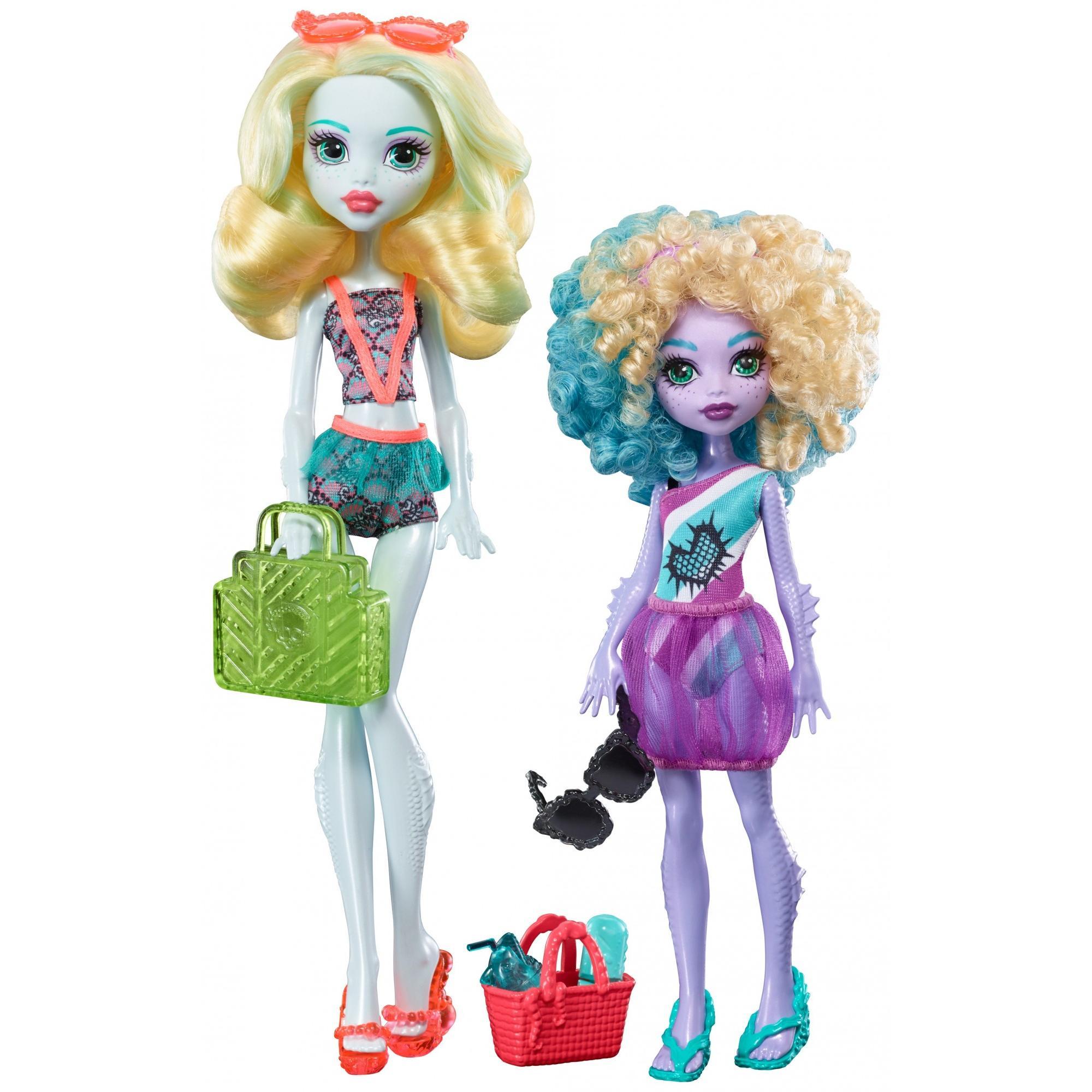Monster High Monster Family of Lagoona Blue 2-pack Dolls